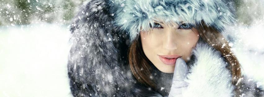 Winter gezichtsbehandeling